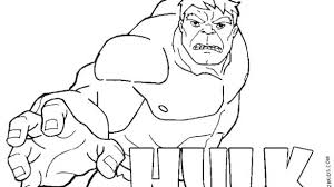 The Incredible Hulk Coloring Pages Printable Shining Ideas The