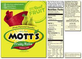 mott s fruity rolls strawberry splash