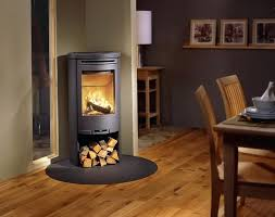 stand alone wood burning fireplace round freestanding wood burning fireplace