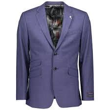 Ted Baker London Men S Size Chart Vienaj Sterling Check Jacket 140860