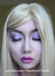 cute barbie doll makeup tutorial