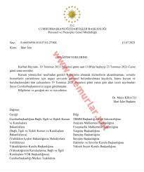 19 Temmuz Pazartesi günü için idari izin yayımlandı - Memurlar.Net