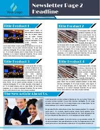 sample company newsletter business newsletter templates free 10 company newsletter templates