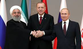 Bildergebnis für putin, chatami, erdogan shaking hands on one image