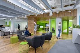 Innovative Office Designs Best New Relic's Innovative Culture Realized In Colorful New Office
