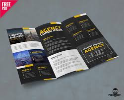 Online Brochure Creator Free Download Corporate Trifold Brochure Psd Psddaddy Com