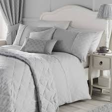 nouveau fan silver bedding