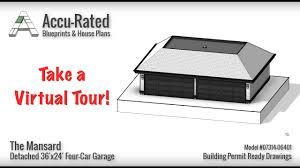 Plan No 2597 0212 Fine Three Car Garage House Plans  EvolveyourimageFour Car Garage House Plans