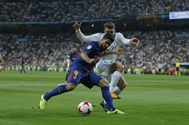 ball in spanish. barcelona\u0027s luis suarez, left, vies for the ball with real madrid\u0027s mateo kovacic during in spanish