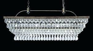 crystal drop chandelier cassiel 40 rectangular black clarissa