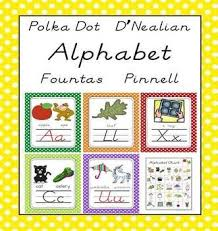 Dnealian Fountas And Pinnell Aligned Alphabet Letter