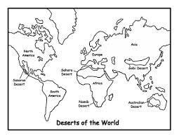 Kaart Van Woestijnen Kleurplaat Gratis Kleurplaten Printen