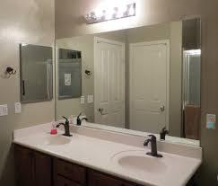 Bathroom Mirrors Wall Frame Bathroom Mirror Mirrors Nongzico