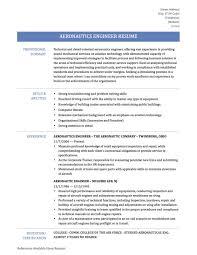 Job Resume Online How To Write An Aerospace Engineer Resume Online Resume