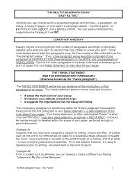 cover letter types of essays and examples types of essay