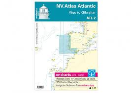 Nv Charts App Atlas Atlantic Atl2 Vigo To Gibraltar Buy Now Svb Yacht And Boat Equipment