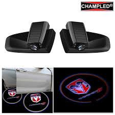 Ram Door Projector Lights Amazon Com For Dodge Red Laser Projector Logo Illuminated