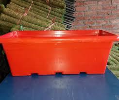 planting brown rectangular plastic