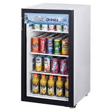 Glass Refrigerator Air Tgm 5r White Countertop Display Refrigerator With Swing Door