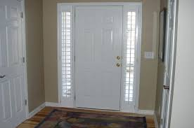 front door with window. Front Door Window Blinds Office And Bedroom With
