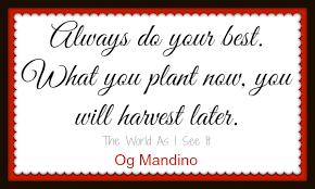 Image result for og mandino quotes