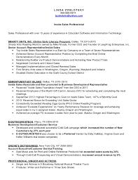 Inside Sales Resumes Ukranagdiffusion Simple Sales Rep Resume