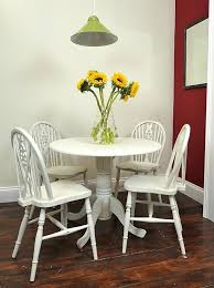 best our dining table chairs images on small round table chair set painted in old white shabby chic rustic furniture shabby chic kitchen table