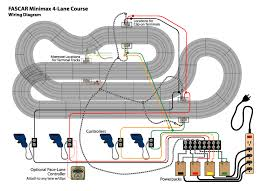fascar 500 ho slotcar track construction and electrical wiring diagram small
