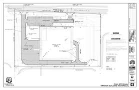 site plan hanson builders is proposing to construct a 62 500 square foot commercial warehouse building on bunker lake boulevard within the anoka enterprise