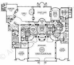 vaquero courtyard house plan mediterranean home design House Plans Courtyard vaquero house plan courtyard floor house plan first floor house plans courtyard garage