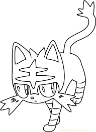 Pokemon Sun And Moon Zercatree Coloring Pages