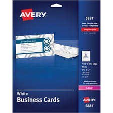 Avery 8870 Template Avery Business Card