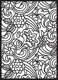 Paisley Designs Stained Glass Coloring Book Spring Mandalas Pre
