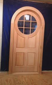 Wood Custom Arched Top Doors  Jim Illingworth Millwork LLC - Custom wood exterior doors