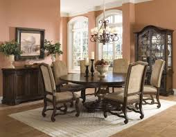 round table rectangular rug