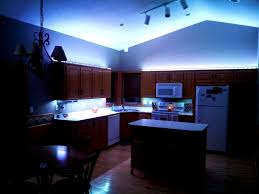 cool home lighting. Home Lighting, Marvelous Led Kitchen Lighting Cool Blue Light Under And Up Cabinet Flexible Strip N