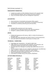 Sales Skills Resume Fascinating Sales Skills List For Resume From Good Qualifications For Resume