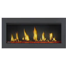 napoleon vector 38 built in direct vent natural gas fireplace w electronic ignition lv38n gas log guys