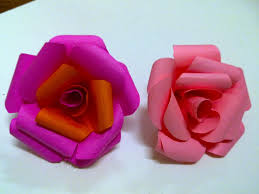 How To Make The Paper Flower Unique Gifts How To Make Easy Paper Rose Flower Hubpages