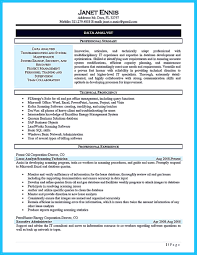 Data Analysts Resume Cool High Quality Data Analyst Resume Sample From Professionals 22