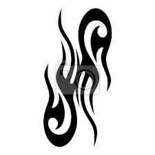 Fototapeta Tetovací Vzory Tetování Tribal Vektorové Návrhy Tribal Tetování