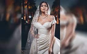 بعد إقامة حفل زفافها| هاجر أحمد فنانة خطفت قلوب الجماهير