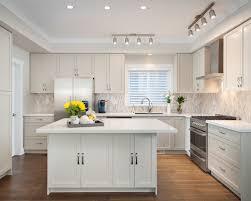 kitchen lighting houzz. example of a midsized transitional lshaped medium tone wood floor kitchen design lighting houzz u