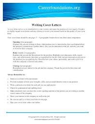 How To Write Cover Letter To Company Example Cover Letter For