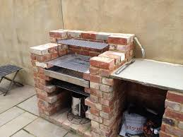 built in brick bbq kit stainless steel grill will not rust