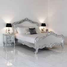 Silver Leaf Decoration French Silver Leaf Bed 261 Latest Decoration Ideas