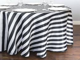 black and white striped plastic tablecloth striped