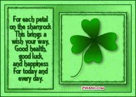 Small Picture For Each Petal On The Shamrock This Brings A Wish Your Way