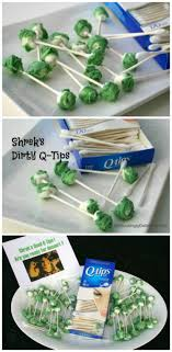 How to make Shrek's Dirty Q-Tips for a suitably disgusting Halloween party  dessert that