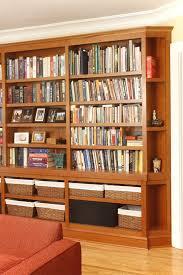 custom bookshelves for a linden hills home